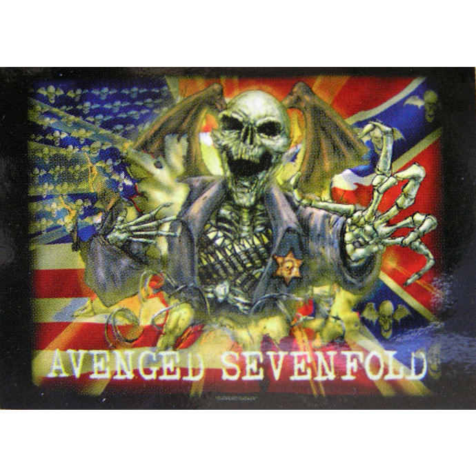 vlajka Avenged Sevenfold - Confederate