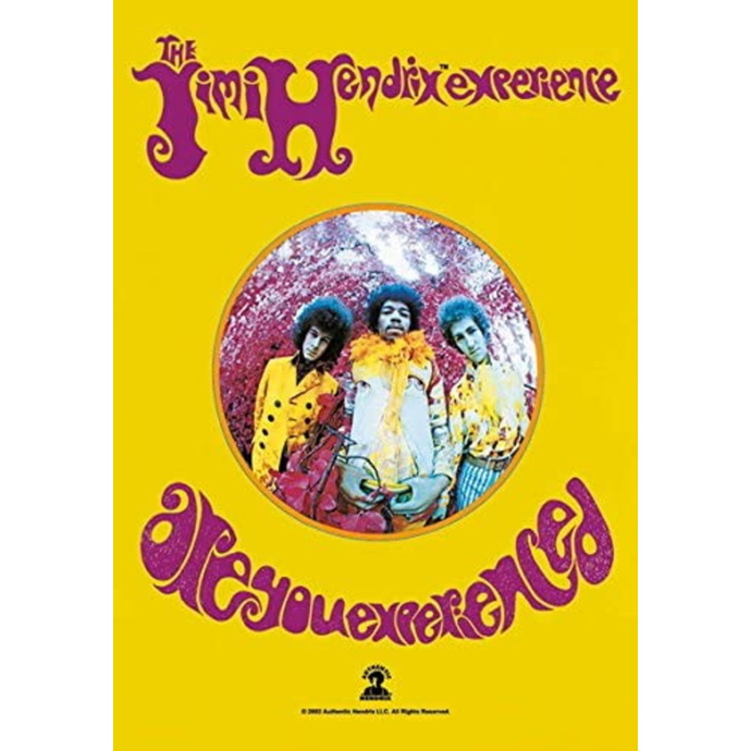 HEART ROCK Jimi Hendrix Are you Experienced
