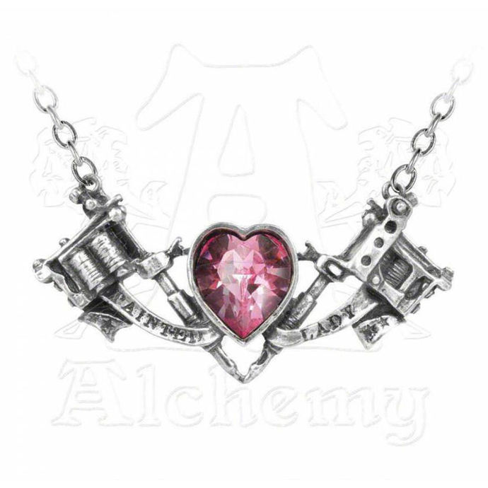 obojek Painted Lady Pendant - ALCHEMY GOTHIC