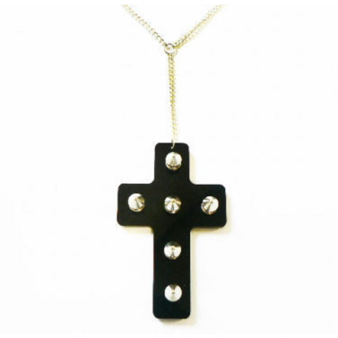 obojek Extreme Largeness - Black Cross