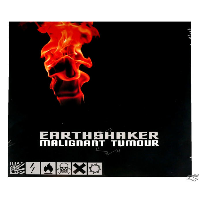 DVD  CD  LP NNM Malignant Tumour Earthshaker