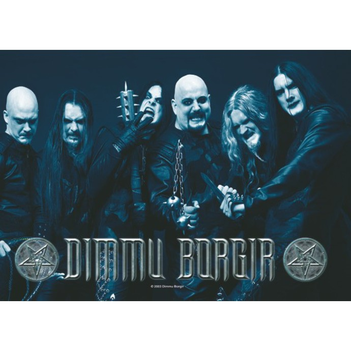 HEART ROCK Dimmu Borgir Band Photo