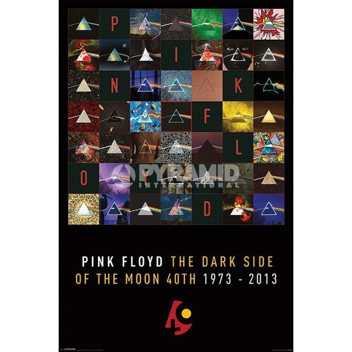 plakát Pink Floyd - Dark Side Of The Moon - PYRAMID POSTERS