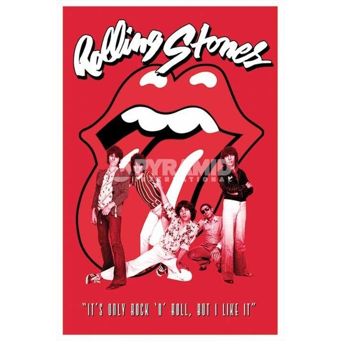 plakát Rolling Stones - It´s Only Rock N Roll - PYRAMID POSTERS