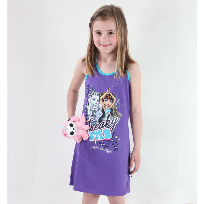 šaty TV MANIA Monster High Purple 10140