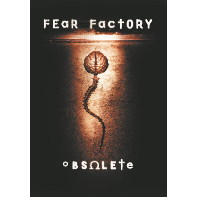 vlajka Fear Factory - Obsolete