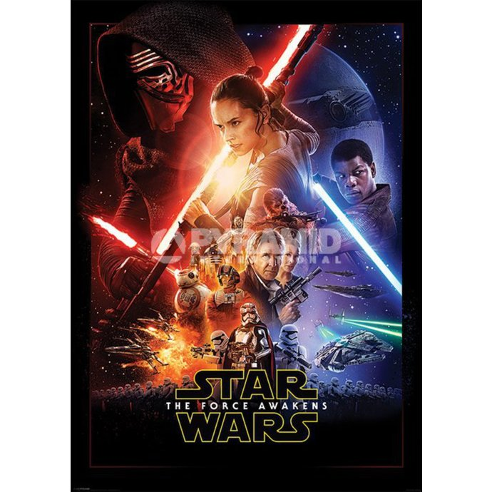 PYRAMID POSTERS Star Wars Episode VII