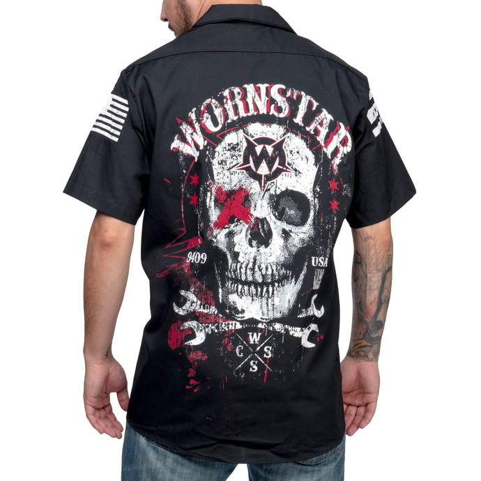 košile WORNSTAR Death Mechanic M