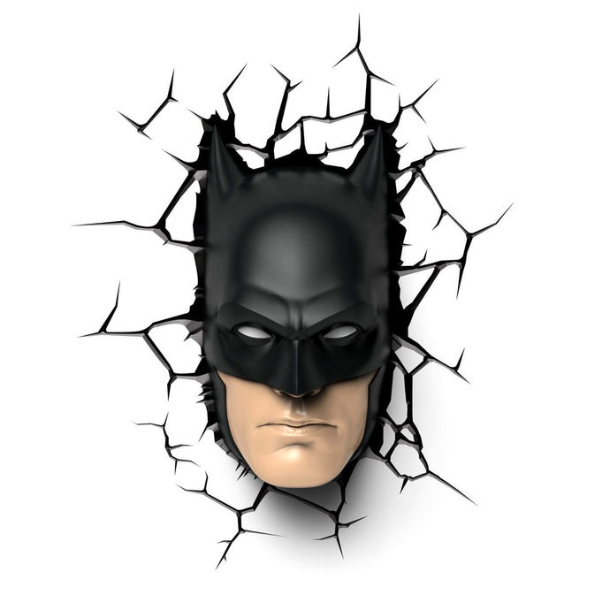 figurka filmová NNM Batman DC Comics 3D LED Light