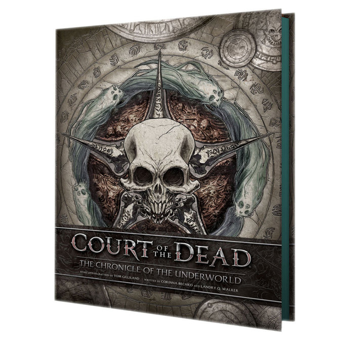 kniha Court of the Dead Book The Chronicle of the Underworld