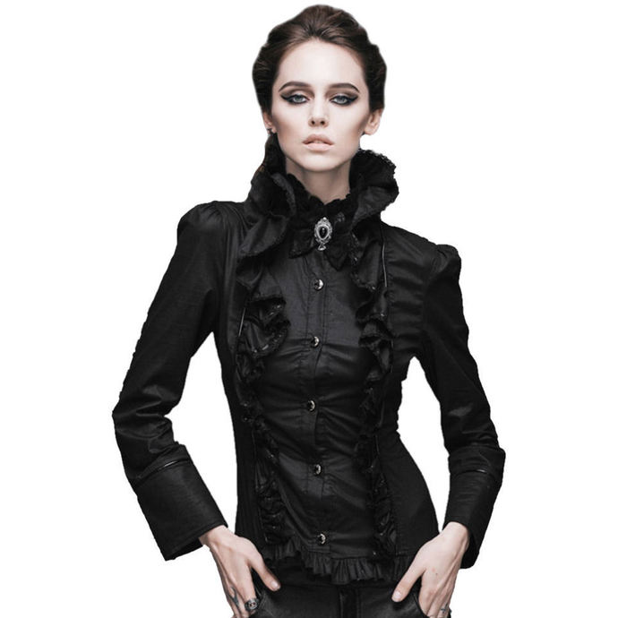 košile DEVIL FASHION Gothic Ebony XL