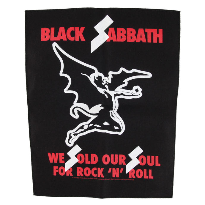 nášivka BLACK SABBATH - WE SOLD OUR SOULS - RAZAMATAZ