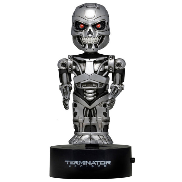 figurka filmová NNM Terminator Genisys Body Knocker Bobble-Figure Endoskeleton