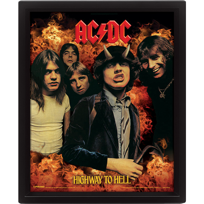 3D obraz AC/DC - Highway to Hell