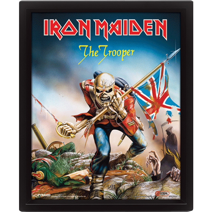 3D obraz Iron Maiden - The Trooper