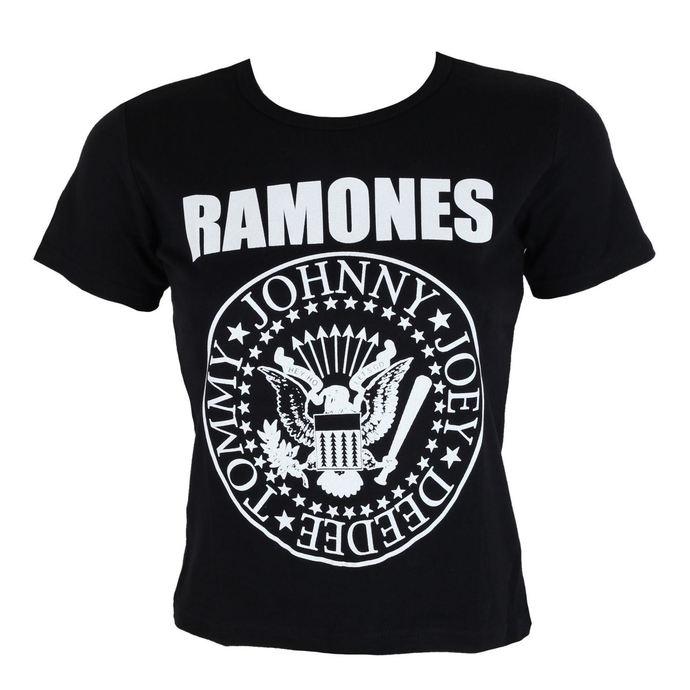ROCK OFF Ramones Seal černá S