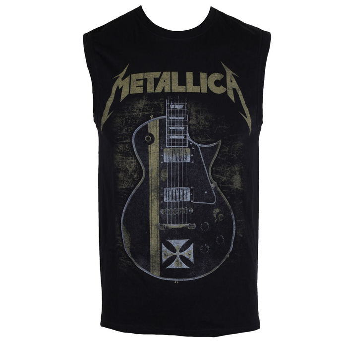 tílko pánské Metallica - Hetfield Iron Cross - Black