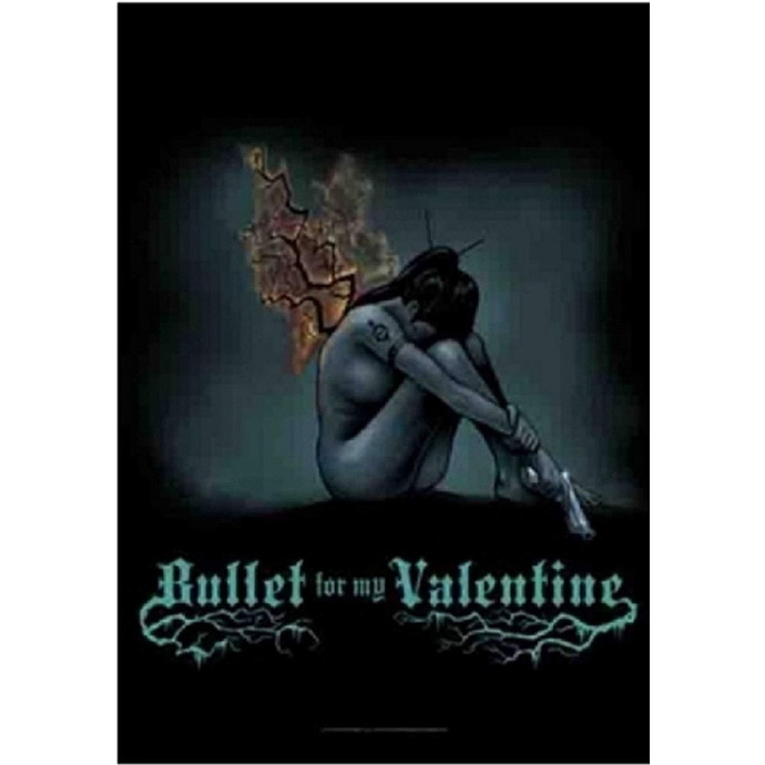 HEART ROCK Bullet For my Valentine Burning Wings