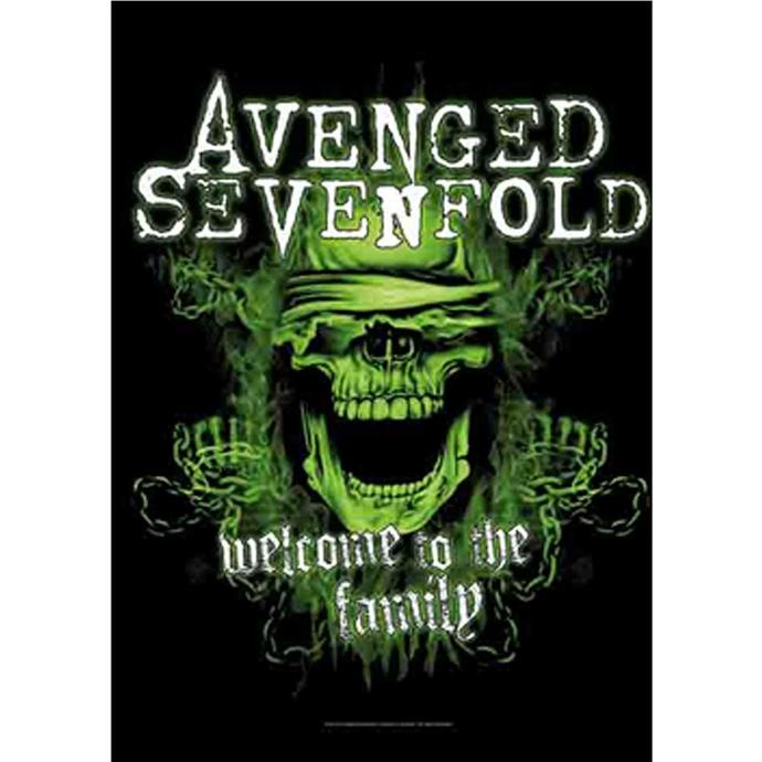 HEART ROCK Avenged Sevenfold Welcome to the Family