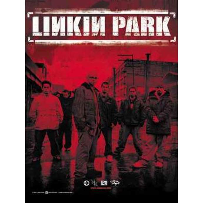 vlajka Linkin Park - Band