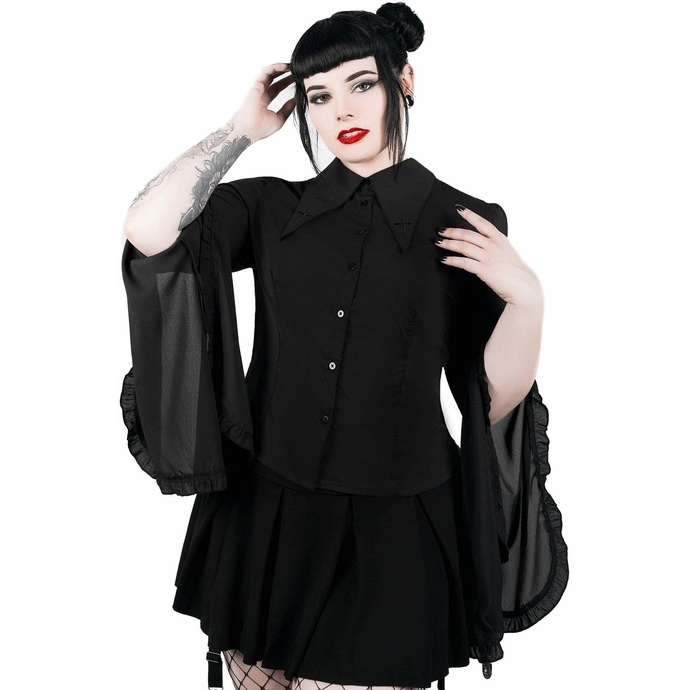 košile KILLSTAR Low-Lita Button-Up XS