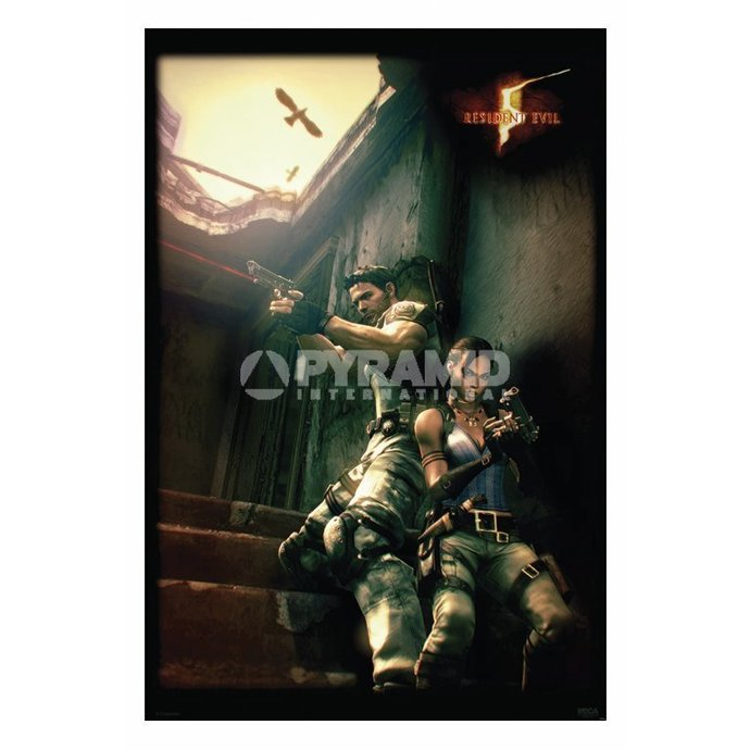 plakát Resident Evil 5 (Against A Wall) - PP31862
