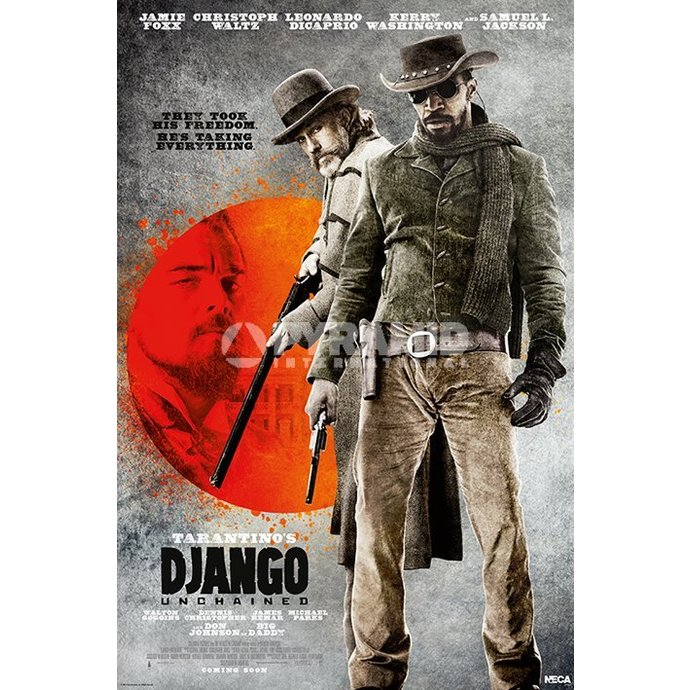 plakát Django Unchained - They Took His Free - Pyramid Posters