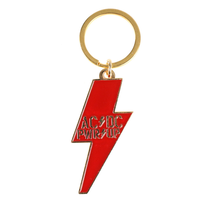 klíčenka (přívěšek) ACDC - POWER UP - Bolt - RAZAMATAZ - KR176