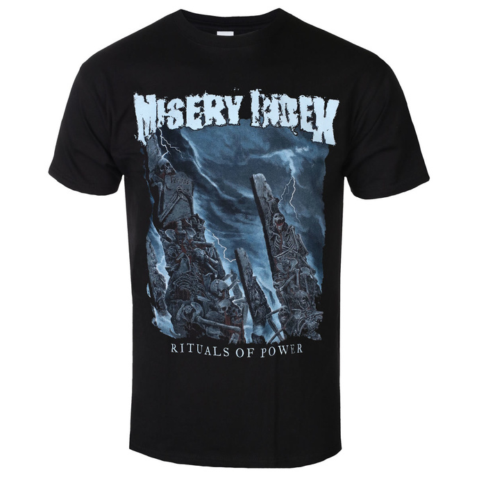 Tričko metal SEASON OF MIST Misery Index Rituals Of Power černá S
