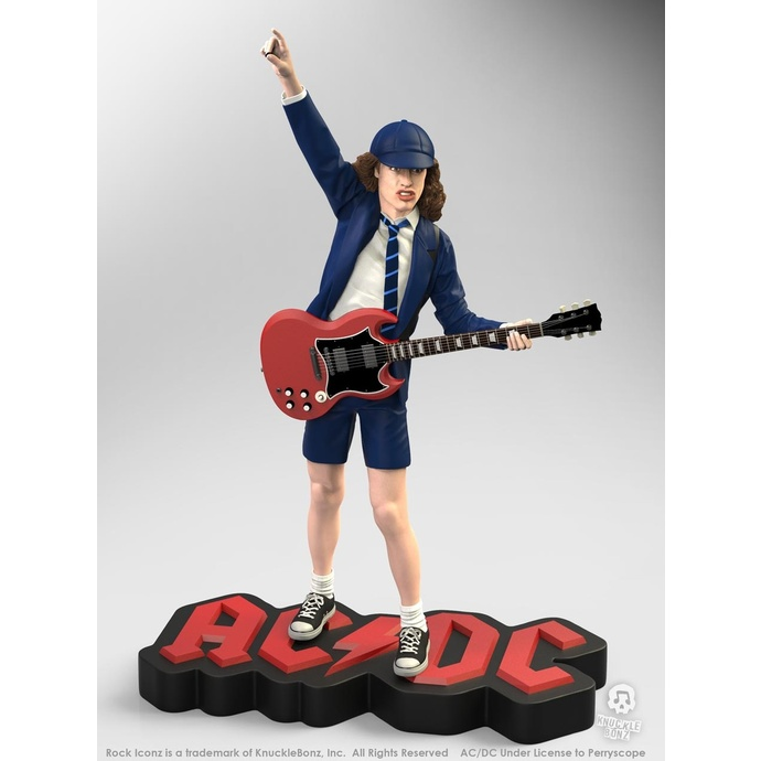 figurka skupiny KNUCKLEBONZ AC-DC Angus Young