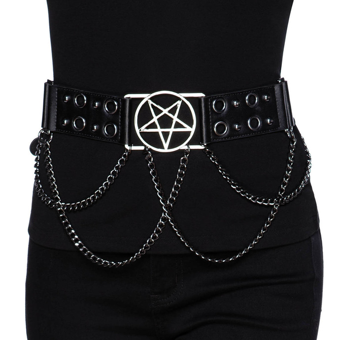 opasek s kovem KILLSTAR Blood Rain Belt LXXL