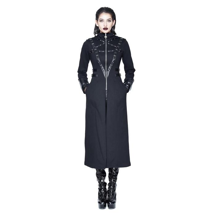 Levně kabát dámský DEVIL FASHION - CT090 L
