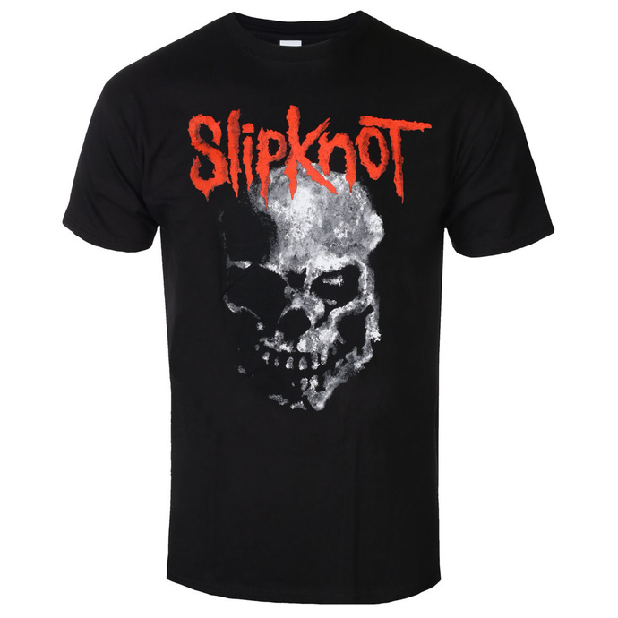 Tričko metal ROCK OFF Slipknot Gray Chapter Skull černá S