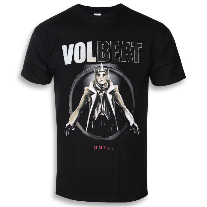 Tričko metal ROCK OFF Volbeat King Of The Beast černá XXL