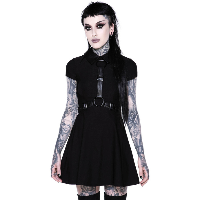 šaty KILLSTAR Disgrace Skater Dress XS