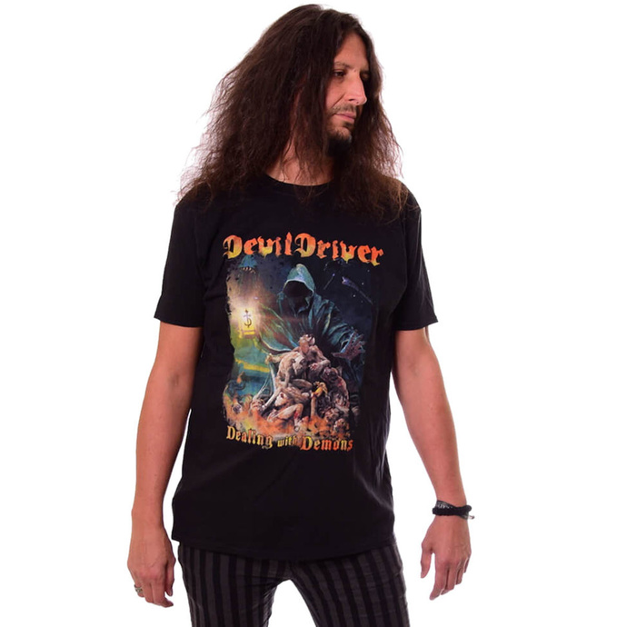 Tričko metal NAPALM RECORDS Devildriver Dealing With Demons černá S