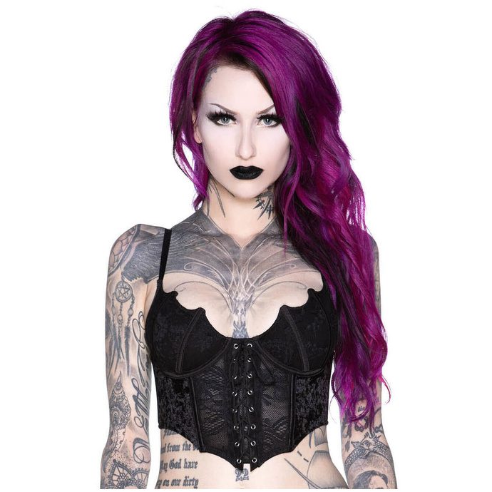 korzet KILLSTAR Fang Lace 3XL