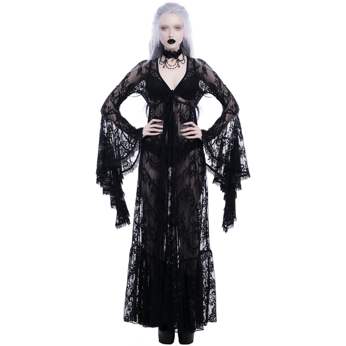 šaty KILLSTAR Fortune Lace Duster 3XL4XL