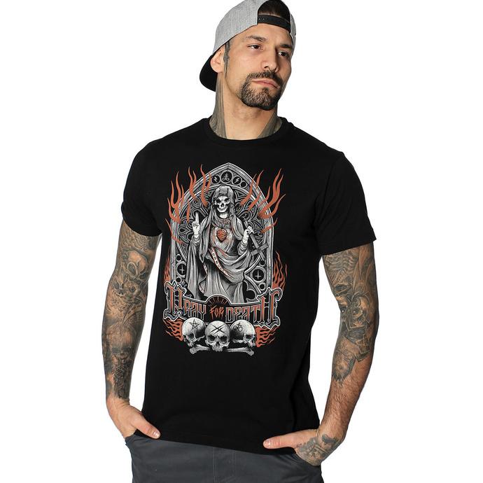 Levně tričko hardcore HYRAW PRAY FOR DEATH černá L