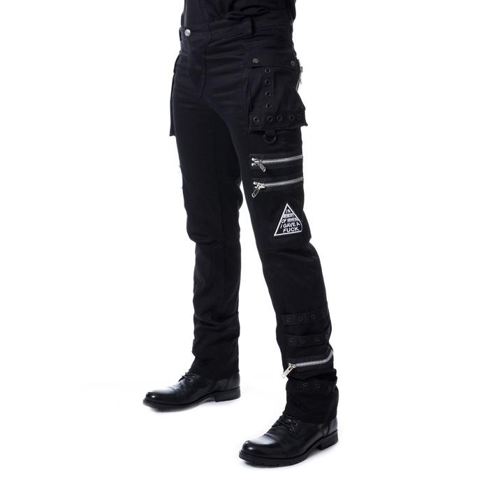 Levně kalhoty gothic HEARTLESS JAXON 36/34