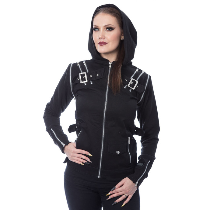 bunda dámská Innocent Clothing - JEZEBEL - BLACK - POI936 S