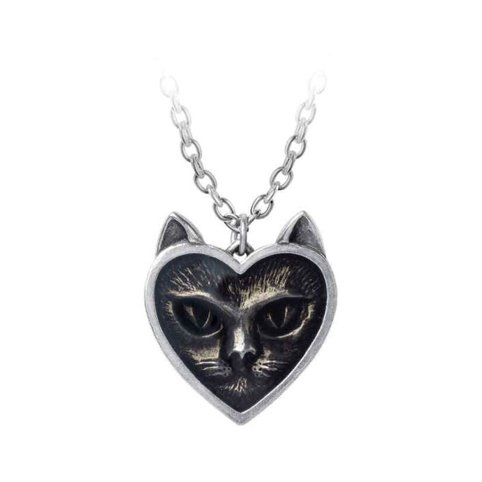 obojek ALCHEMY GOTHIC - Love Cat - P884