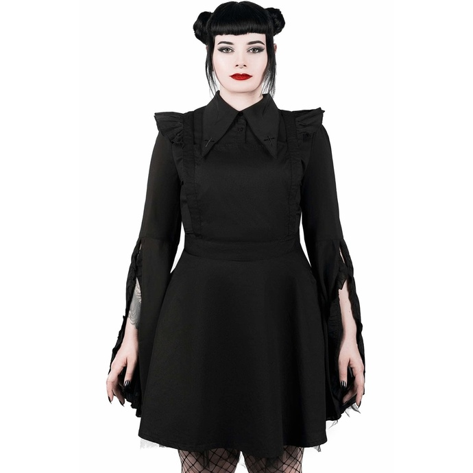 šaty KILLSTAR Low-Lita Apron XS