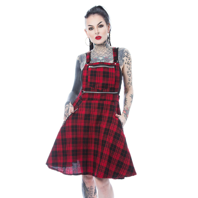 šaty HEARTLESS MAUDE PINAFORE M