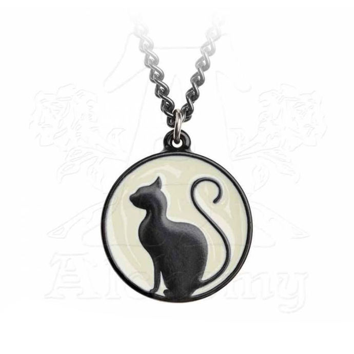 obojek ALCHEMY GOTHIC - Meow At The Moon - P824
