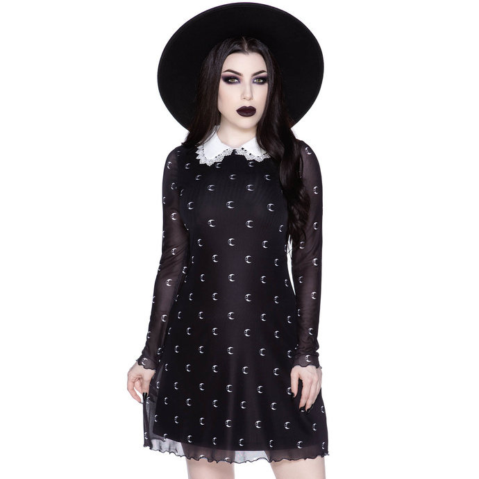 šaty KILLSTAR Misty Collar XS