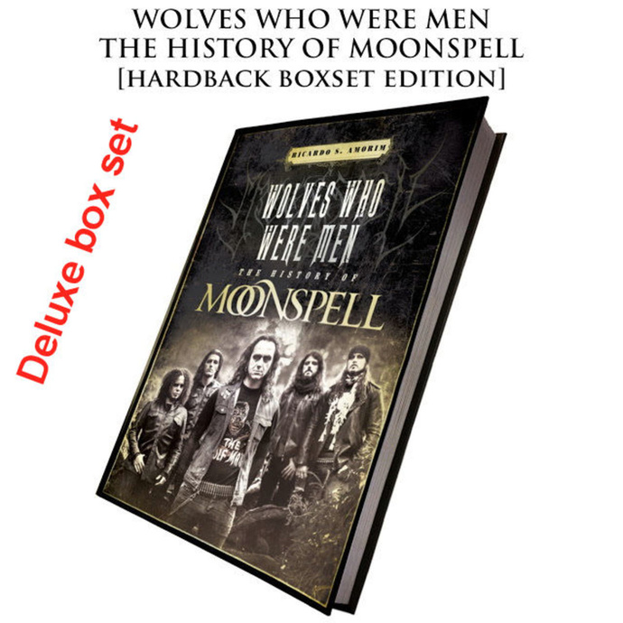 CULT NEVER DIE Moonspell Wolves Who Were Men (Signed deluxe hardback boxset