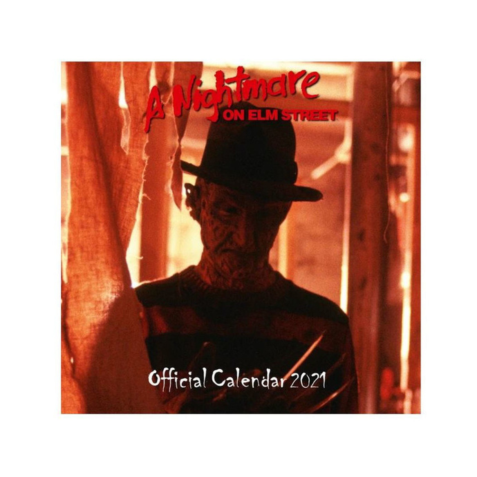 kalendář NNM A Nightmare on Elm Street A NIGHTMARE ON ELM STREET