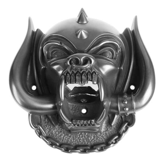 otvírák BEER BUDDIES Motörhead Snaggletooth (Gun Metal Finish)