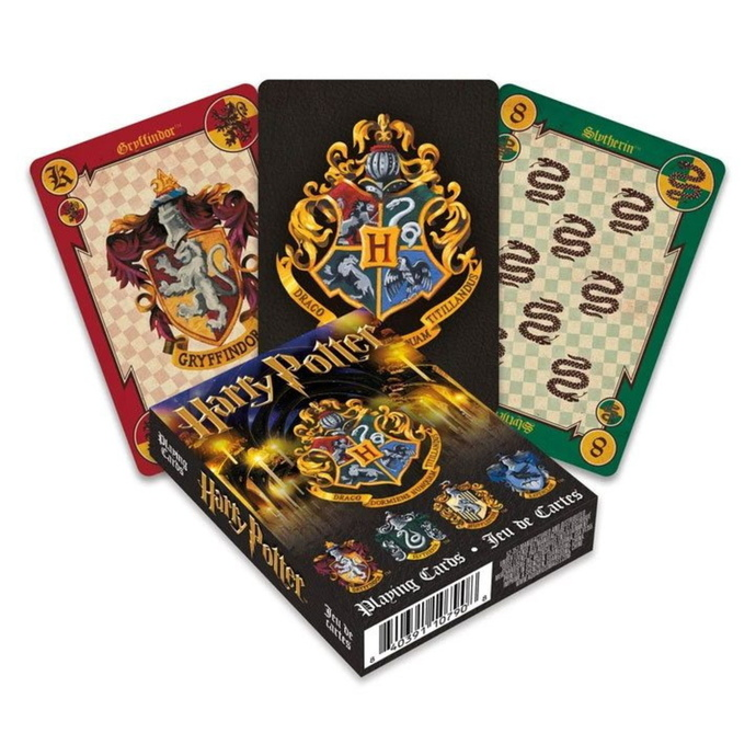 hrací karty Harry Potter - Crests - NMR52357
